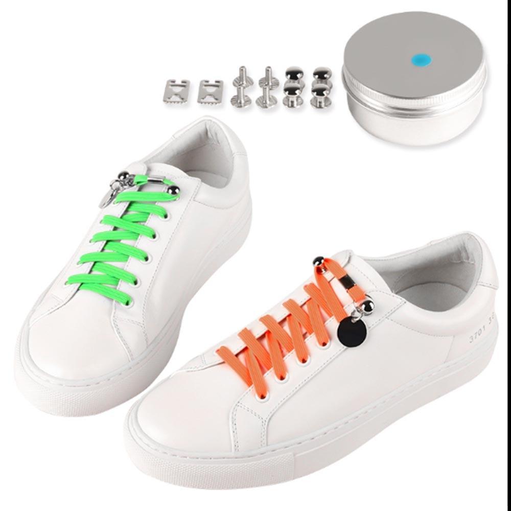 12pcs Shoelace Buckle DIY Shoestrings Smile Face Sports Shoe Decoration Clip HOT
