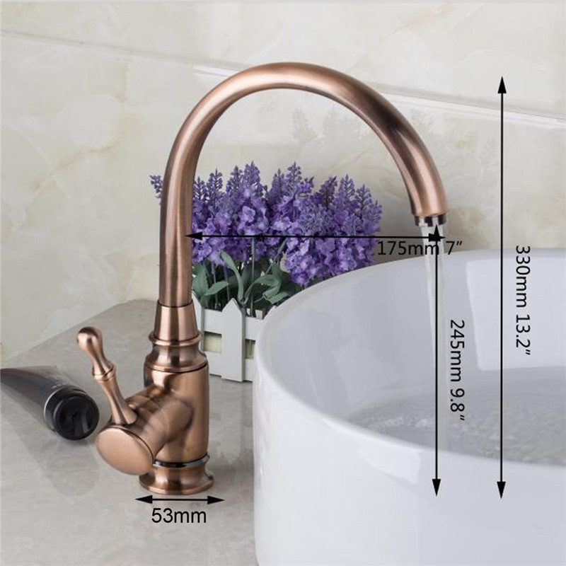 Aliexpress com   Buy Brand New Stylish Fashion Gold Kitchen Bathroom Basin  Sink Antique Copper Brass Single Handle Faucet Mixer Tap from Reliable  faucet  Aliexpress com   Buy Brand New Stylish Fashion Gold Kitchen  . Gold Bathroom Taps Ebay. Home Design Ideas