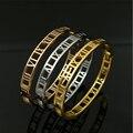 Moda H Pulseira de Ouro/prata/rosa Banhado A Ouro Pulseiras & Pulseiras para Mulheres Homens Pulseira Charme Bangle jóias