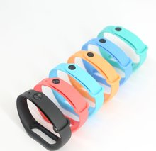 Colorful smart strap Replace Wrist Band  For Xiaomi Miband Mi band 2 Smart Bracelet present with free Screen Film