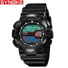 Водонепроницаемый дети часы для мальчиков и девочек цифровой светодиодный спортивные часы с датой Наручные часы детские часы