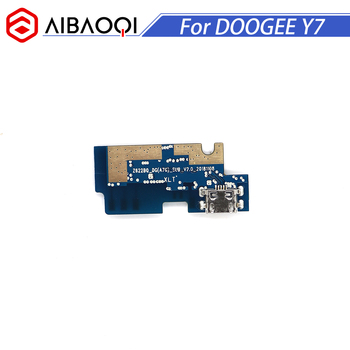 Nueva placa de carga de enchufe usb Original para Doogee Y7 Cables flexibles de teléfono móvil Módulo de carga Mini puerto USB de teléfono móvil