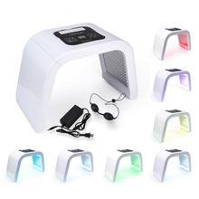 7 цветов светодиодный светильник фотодинамический уход за кожей лица расслабляющее терапевтическое устройство многофункциональное косметическое устройство для домашнего использования