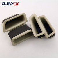 Black Beige Front And Rear Door Handle Storage Box For Volvo XC60 Car Styling Container Holder