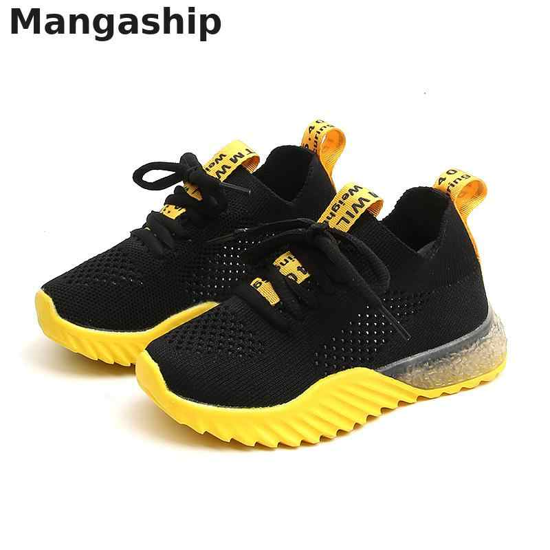 2019 Summer Kids Shoes Boys Casual Children Sneakers For Boys Mesh Ventilation Sport Shoes Girls Outdoor Running Children Shoes