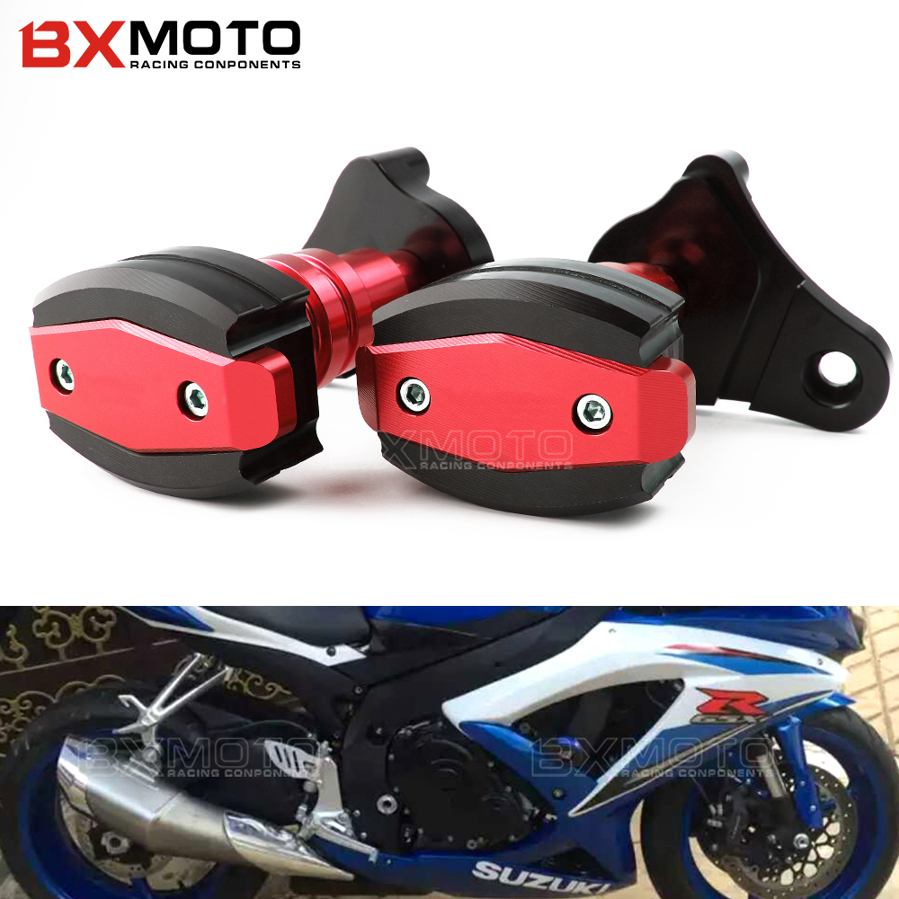 Motorcycle Accessories Cnc Frame Sliders Falling Protection Crash ...