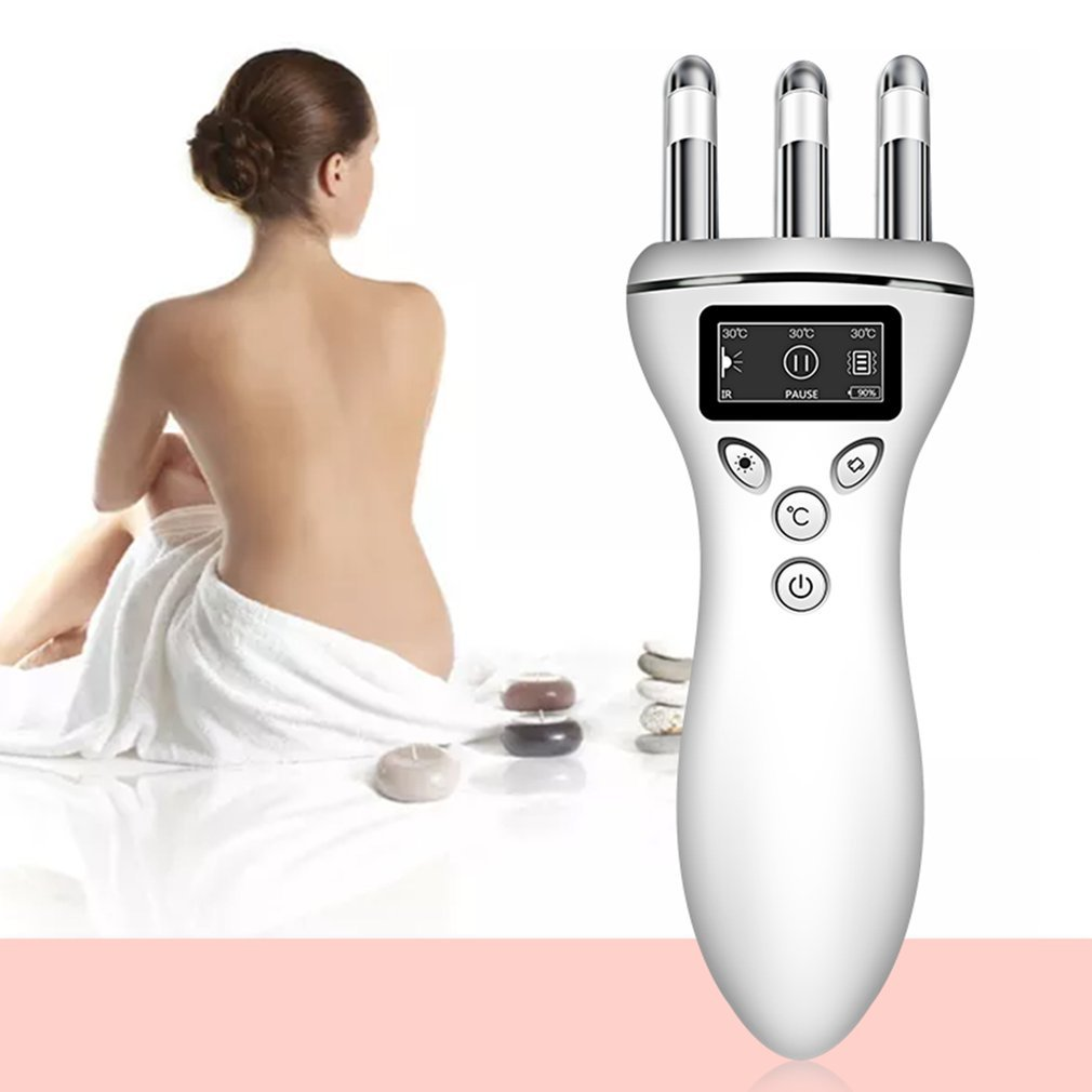 Multifunction Magnetic Massager Infrared Heat Treatment Detoxing Magnetic Therapy Machine Tightening Lifting Face Massager|Personal Care Appliance Parts| |  - title=