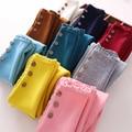 Polainas de las muchachas, Además de Terciopelo Grueso Polainas Calientes de La Manera de 7 Colores Niña Pantalones de Edad 2-10 Ropa de Los Niños 2006