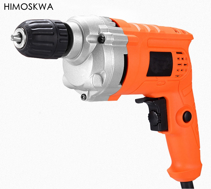 710W Electric drill Household electric screwdriver copper wire Electrodeless Speed Regulation of Electric Drill power tools