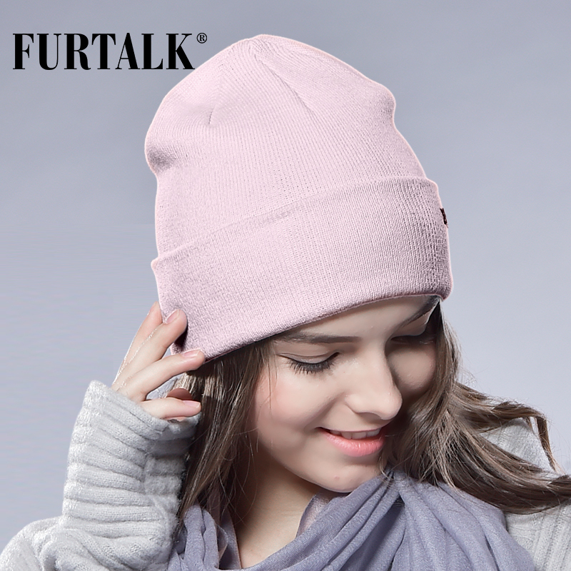 FURTALK Winter Hats for Women Men Knittes