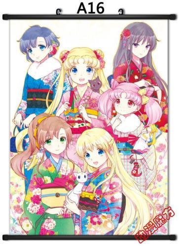 Аниме Япония плакат дома Сейлор Мун Кристалл - Цвет: Красный
