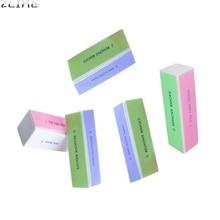 5 шт. 4 Сторон Nail Art Файлы Буфера Блок Маникюр Инструмент для профессионального использования или дома 6609