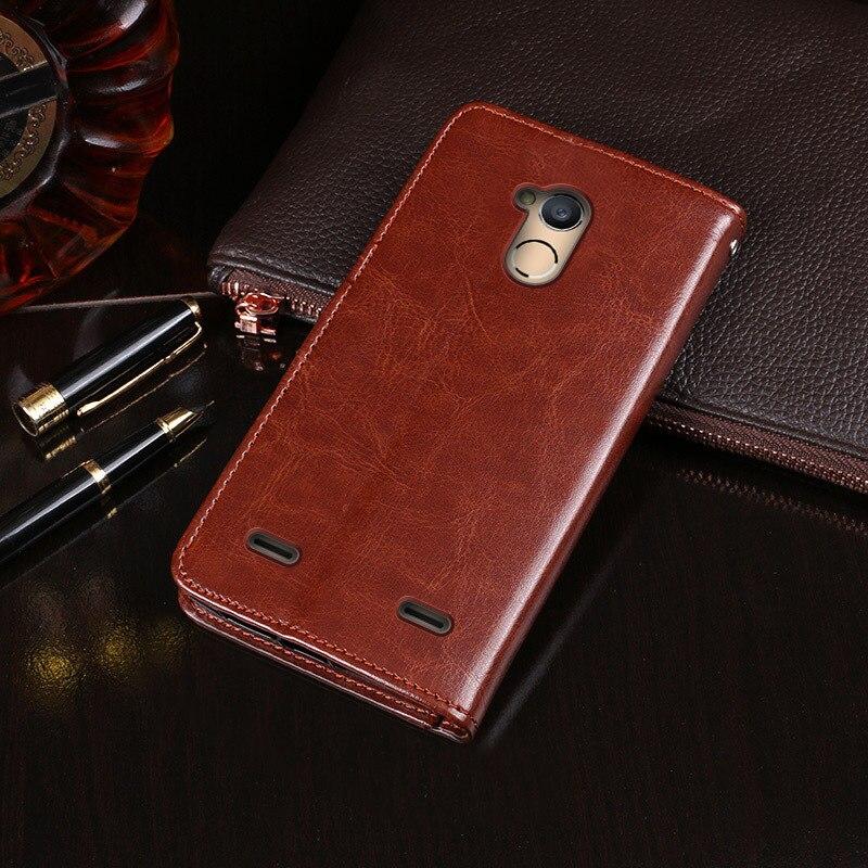 SRHE For ZTE Blade V7 Lite Case Cover Flip Leather Wallet Silicone Magnet Case For ZTE Blade V7 Lite V7Lite Cover