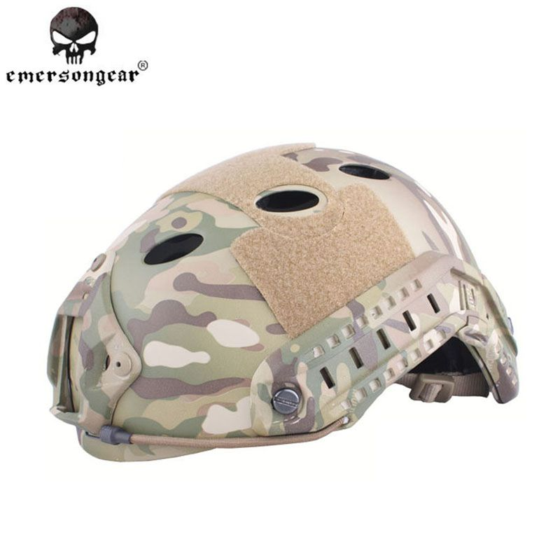 EmersonGear FAST Helmet PJ TYPE Bike Tactical Protective Airsoft Sports Safety Military Combat Cycling Pararescue Jump Helmet fast helmet protective goggle helmet pararescue jump type helmet military tactical airsoft helmet
