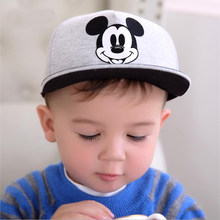 OSTIA 2018 New Spring Summer Cartoon Children Baseball Cap Boys Sun Hat Hiphop Cap Toddler Kids Hat Caps pokemon 0-6Y H31(China)