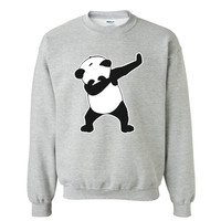 2018 Teenage Youth Funny Dab Life Panda Dance Hoodies Sweatshirts For Men Sweatshirt