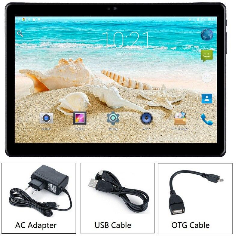 Gros OEM 10 pouces Android 7.0 Octa Core PC 4G LTE 3G tablette mobile appel téléphone portable