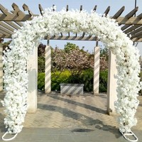 New Arrival wedding Center pieces Arch Stand Store Opening Flower Frame Galvanized Shelf O and U two Shape free shipping