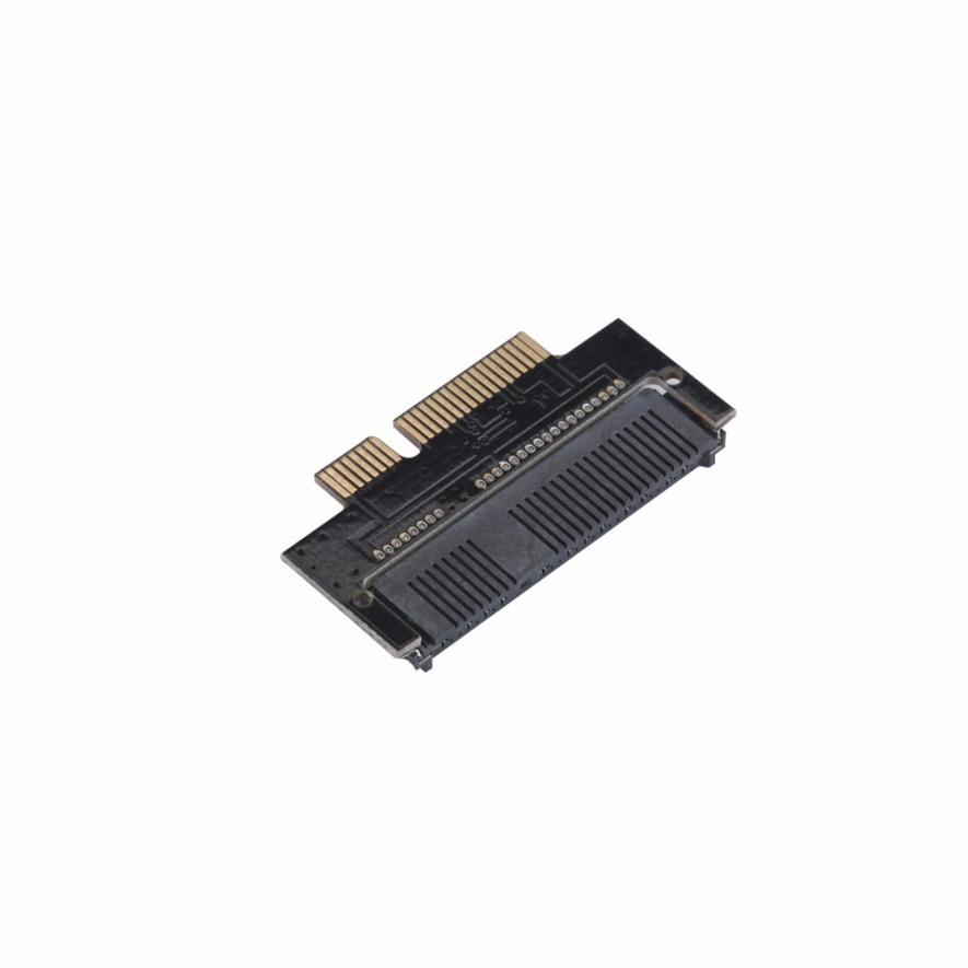 все цены на mSATA SSD To 2012 Version MacBook Air A1465 A1466 SSD(7+17Pin) Adapter Card Jun23 Professional Factory Price Drop Shipping онлайн