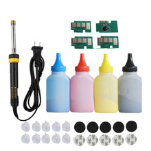 Refill toner Powder cartridge tool kit +4 chip for samsung CLT 504S 504S C1810 C1810w CLP 415nw  SL C1810w C1860fw CLX 4195 FN