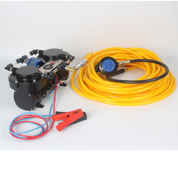 DP70B Plus Scuba Diving equipment 12V Hookah Diving Compressor for diving with display and filter free