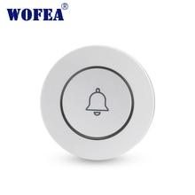 Wofea новая кнопка аварийной сигнализации с одним ключом, кнопка аварийной сигнализации, беспроводная кнопка аварийной сигнализации, дверной...