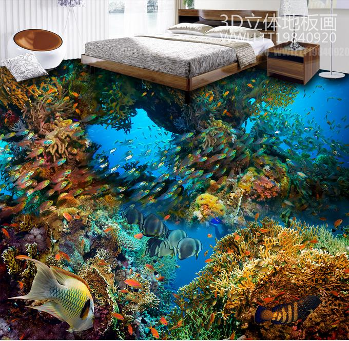 3d floor tiles custom papel de parede 3d europeu The underwater world 3d wall murals wallpaper for bed room 3d flooring custom baby wallpaper snow white and the seven dwarfs bedroom for the children s room mural backdrop stereoscopic 3d