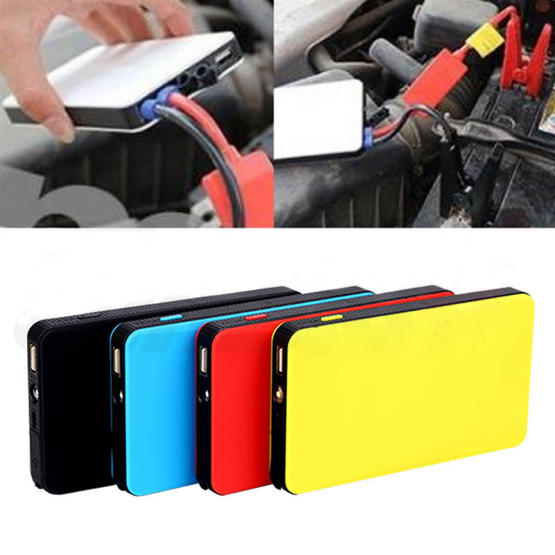 Portable 12V 8000mAh Multi-Function Car Emergency Power Supply Charger Power Bank  Jump Starter Booster For Samsung Andorid 12v 20000mah multi function car jump starter power bank emergency charger booster battery
