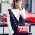 Sendefn 2017 New Fashion Leather Women Crossbody Bags Women Shoulder Bags Cowhide Bag Casual Small Chain Crocodile Pattern Bag