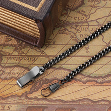 OUYAWEI Серебристая черная бронза Золотая нержавеющая сталь цепь для механических карманных часов и FOB часы для подарка