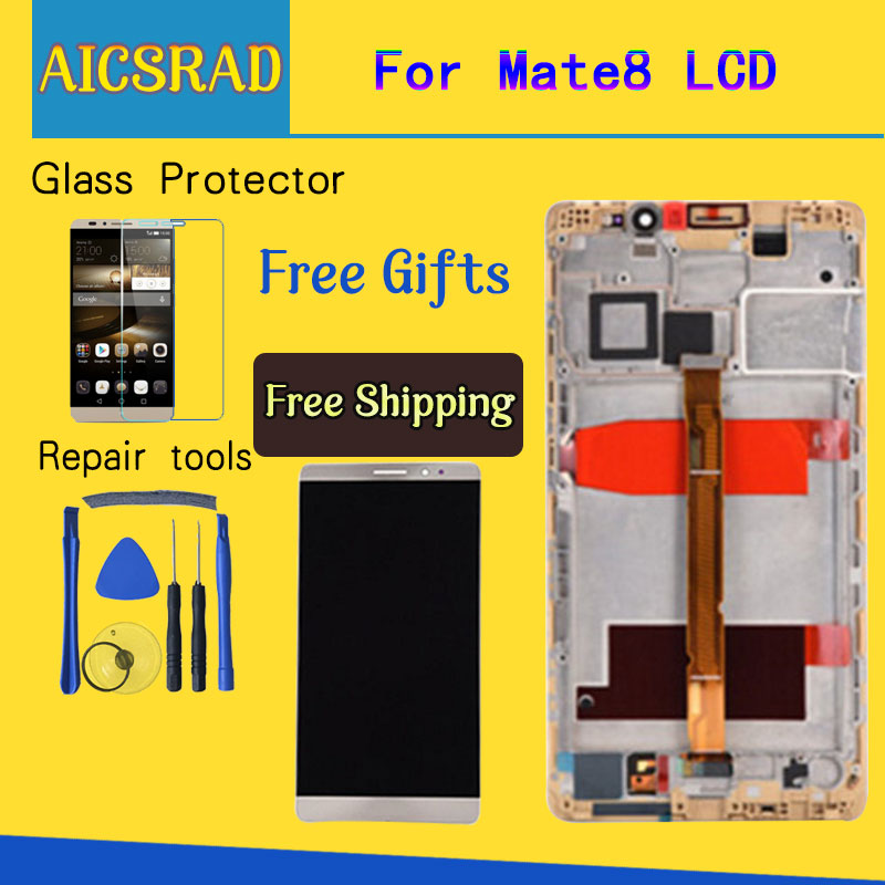 AICSRAD 100% Tested 1920x1080 For HUAWEI Mate 8 LCD Display Touch Screen with Frame Digitizer Assembly For 6.0HUAWEI Mate 8 LCDAICSRAD 100% Tested 1920x1080 For HUAWEI Mate 8 LCD Display Touch Screen with Frame Digitizer Assembly For 6.0HUAWEI Mate 8 LCD
