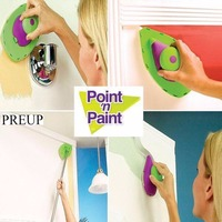 PREUP High Quality Point N Paint Roller And Tray Set Painting Brush Paint Pad Household Wall