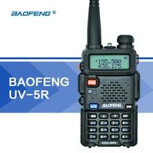 Baofeng UV-5R Walkie Talkie UHF VHF Dual Band UV5R CB Radio 128CH VOX Flashlight Dual Display FM Transceiver for Hunting Radio
