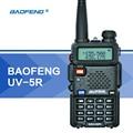 Baofeng uv-5r uv5r walkie talkie uhf vhf radio de doble banda cb Radio 128CH VOX Linterna Dual Display FM Transmisor-Receptor para La Caza Radio