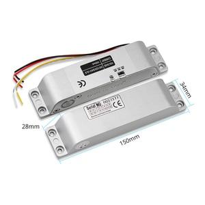 Image 3 - צילינדר חשמלי זרוק בורג נעילה באיכות גבוהה DC 12 V להיכשל בטוח עבור מערכת בקרת גישה דלת מנעול אבטחה עם זמן עיכוב