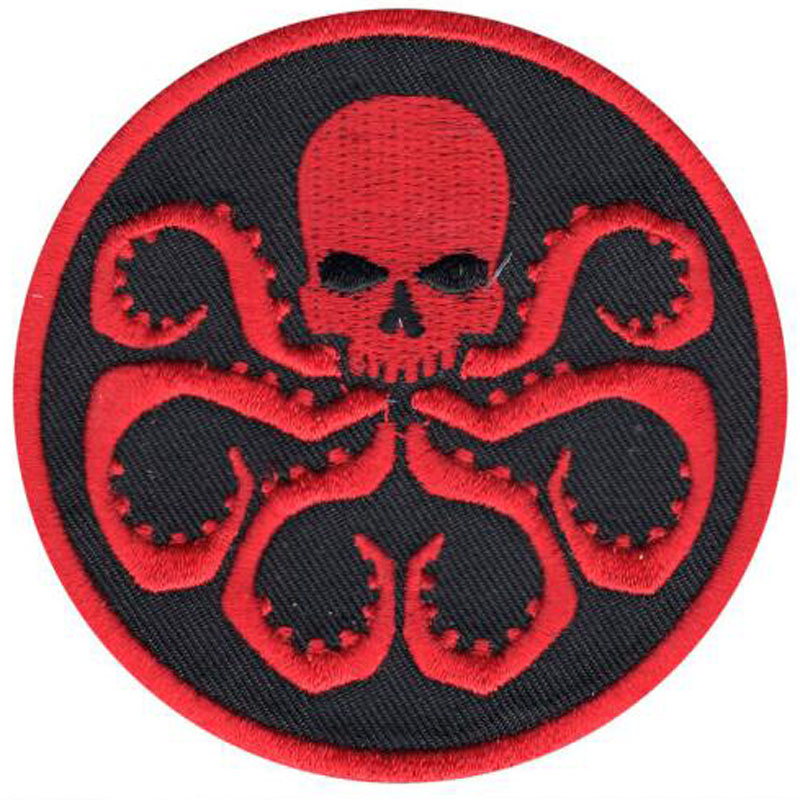 Clothing Badge Patches Marvel Comics Hydra Symbol Crest For Apparel Bag DIY Accessories
