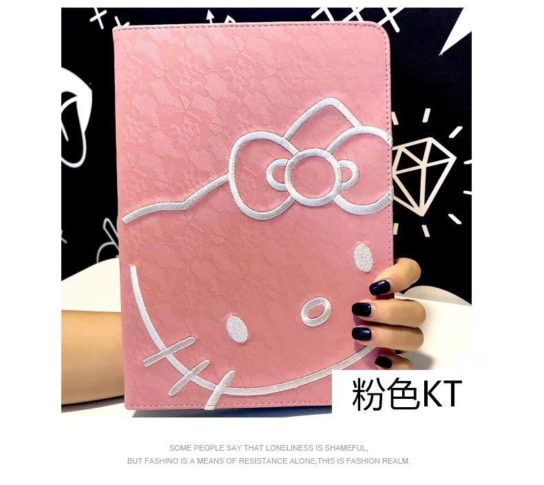maosenguoji embroidery Lace Big head KT Tablet Case For Ipad mini 1 2 3 4 Smart wake up/ ...