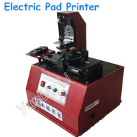 110 В/220 В Электрический Pad принтера высокое качество Pad Дата печати чернила кодирования машина даты Пресс машины в красного цвета TDY 380