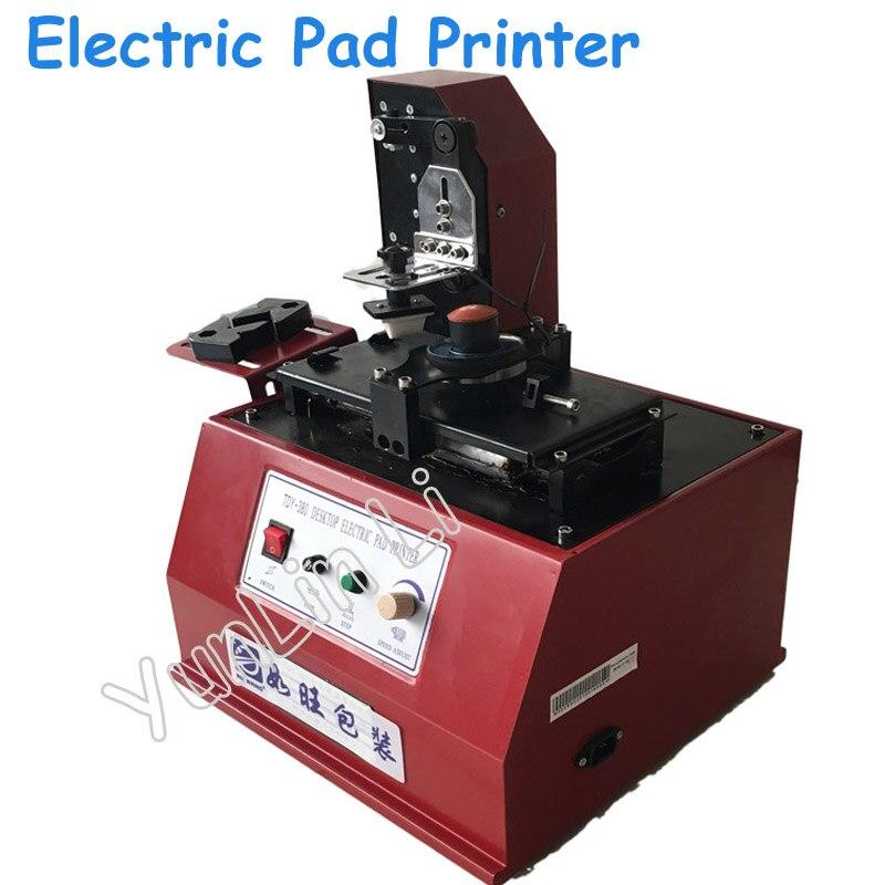 110 V/220 V Pad imprimante électrique haute qualité Pad Date impression encre codage Machine Date presse Machine en couleur rouge TDY-380