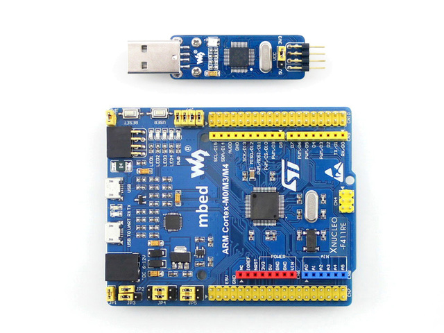 US $34 59 |XNUCLEO F411RE STM32 Development Board STM32F411RET6 ARM Cortex  M4 Comes with ST LINK V2 Compatible with Original NUCLEO-in Demo Board from