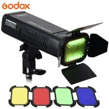 Godox AD200 Photography Strobe 2.4G TTL Pocket Flash 1/8000 HSS Monolight for Sony Canon Nikon + AD-S11 Color Filter Gel Pack