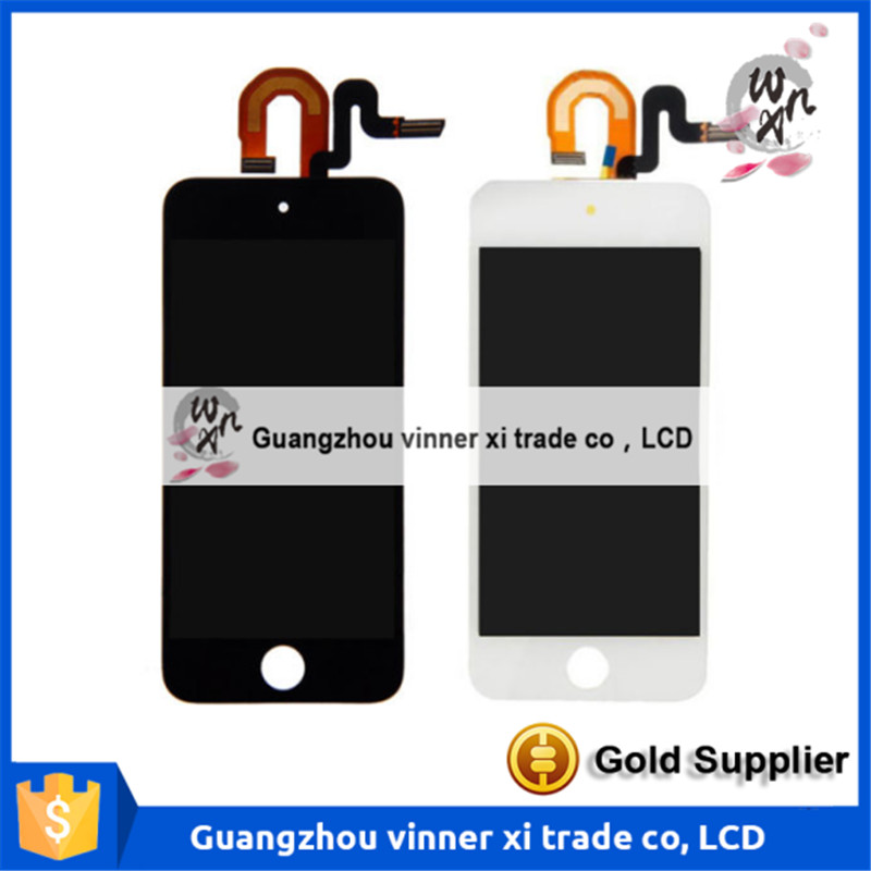 LCD Display Touch Screen Digitizer Assembly For iPod Touch 6 6th Gen Generation new black white lcd touch digitizer screen assembly for ipod touch 5 5th gen generation free shipping low cost