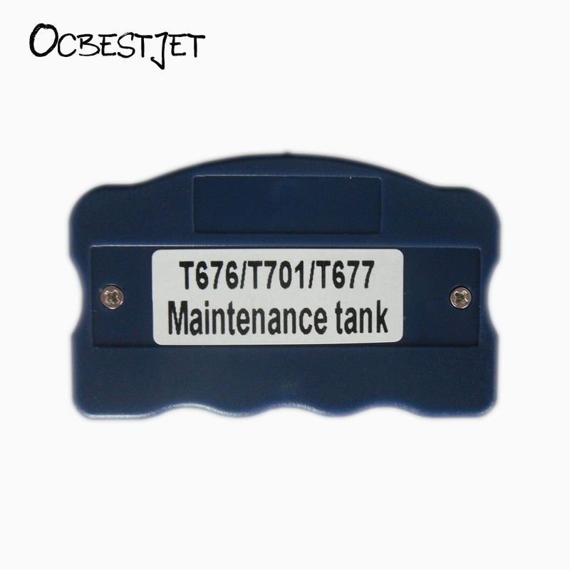 OCBESTJET Maintenance Tank Chip Resetter For Epson WP Series Printers Maintenance Tank Chip T6710 T6711 Waste Ink Tank Resetter