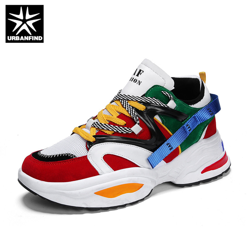 URBANFIND Dad Sneakers 2018 Kanye West  Light Breathable Men Casual Shoes Zapatillas Hombre Casual Tenis Masculino