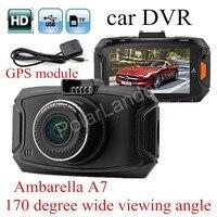 GS90A Ambarella A7LA50 Car DVR HD Car Camera Recorder With GPS Module Night Vision LCD 170