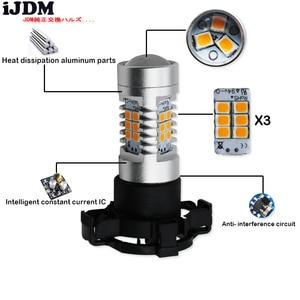 Image 3 - Error Free  PY24W 5200s LED Bulbs For BMW Front Turn Signal Lights, Fit E90/E92 3 Series, F10/F07 5 Series, E83 E70 X5 E71 , etc