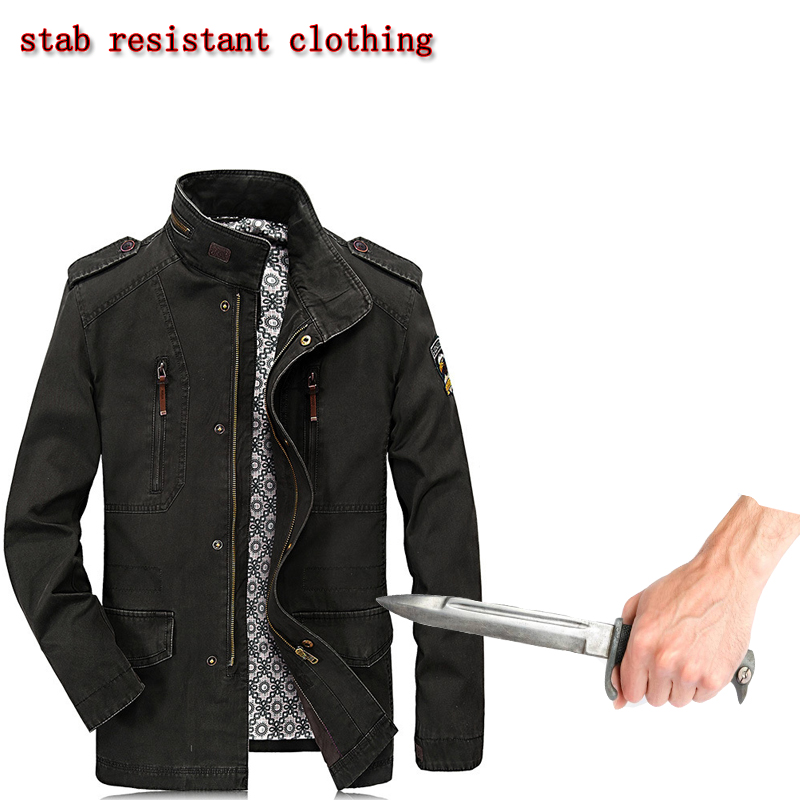 2019 New Ropa Anti Corte Springtime Long Sleeve Jacket Hack Invisible Flexible Stab Resistant Swat Police Self-defense Clothing