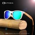 2017 de La Moda de Gafas Polarizadas Artículos PC Marco de la Pierna De Bambú De Madera gafas de Sol de Conducción Hombres Y Mujeres Con la Caja De Madera