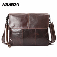 Hot Sale Men S Messenger Bags 100 Natural Genuine Leather Shoulder Bags Multi Function Zipper Casual