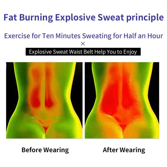 TMT Gym Waist Trimmer Support Belt Fitness Waist Trainer With Phone for Pocket Shaper Slim Weight Loss Sweat Band Lumbar Brace 4